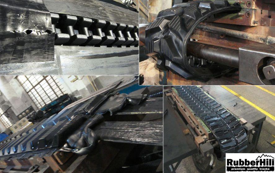 Výrobní proces gumových pásů RubberHill 3