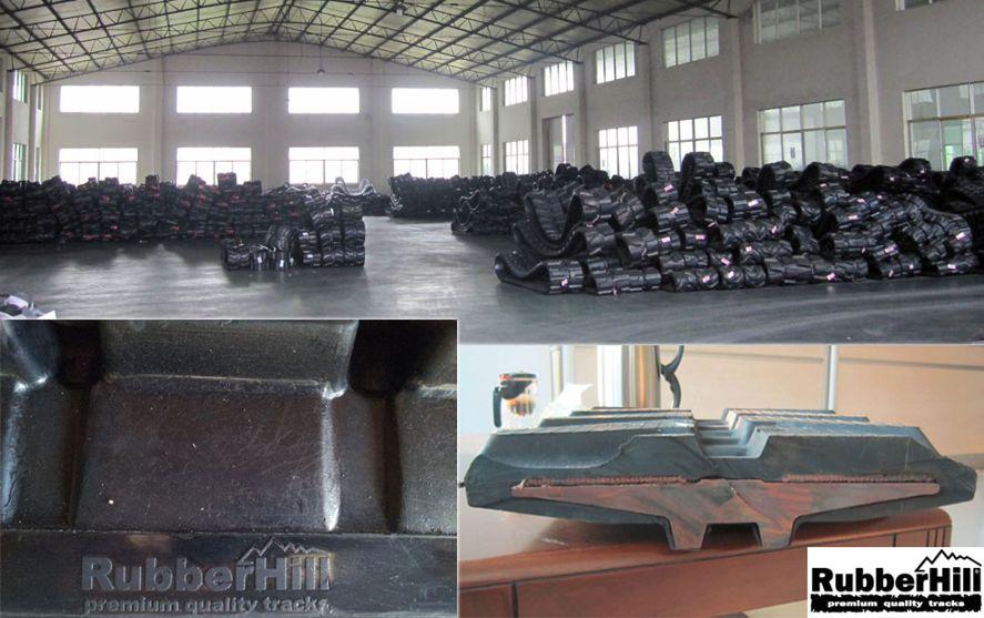 Výrobní proces gumových pásů RubberHill 4